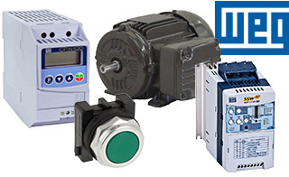 WEG AC Motors, AC Drives, Soft Starters, and Controls