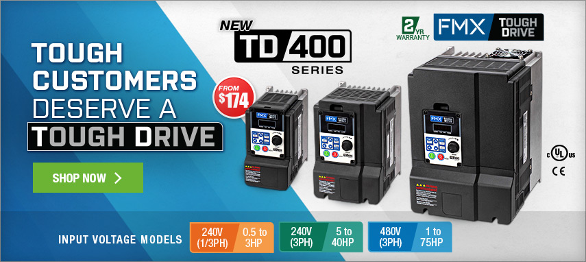 FMX TD400 Series Drives