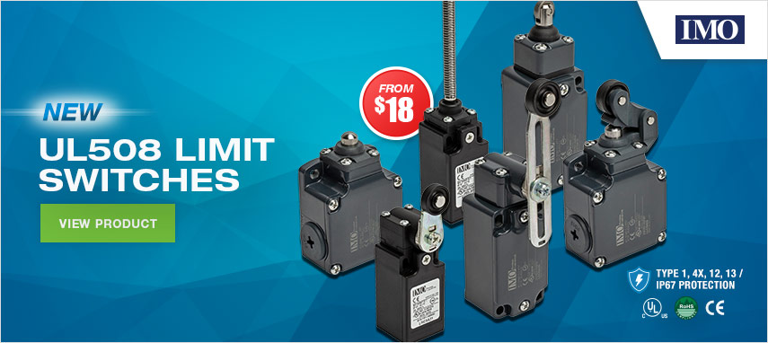 IMO UL508 Limit Switches