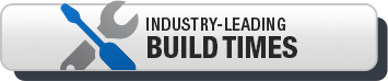 Industry leading build times