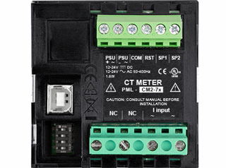PML CT Meter Back