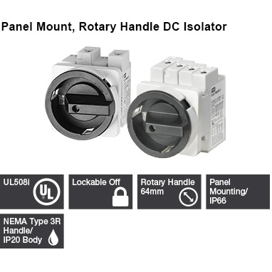 IMO Disconnects Panel Mount