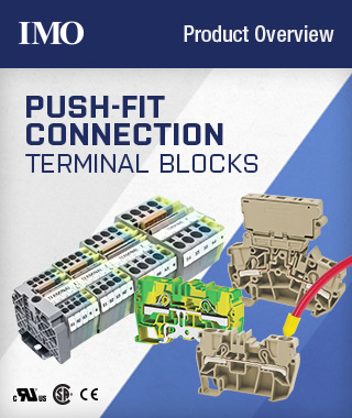 IMO PF Series Push-Fit Terminals