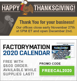 FactoryMation 2020 Calendar