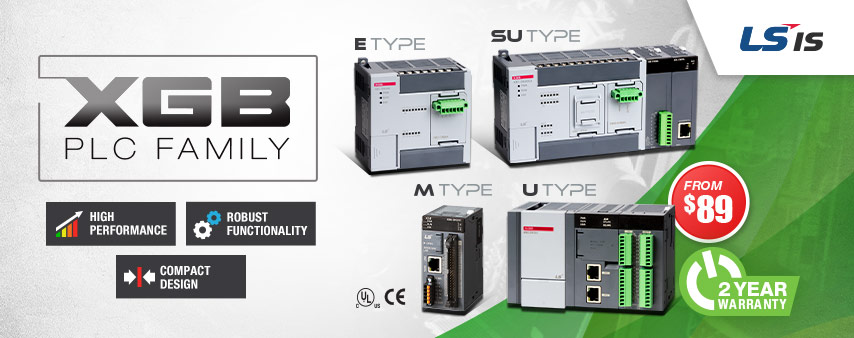 XGB Programmable Logic Controllers