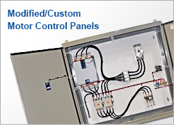 Modified/Custom Motor Control Panels