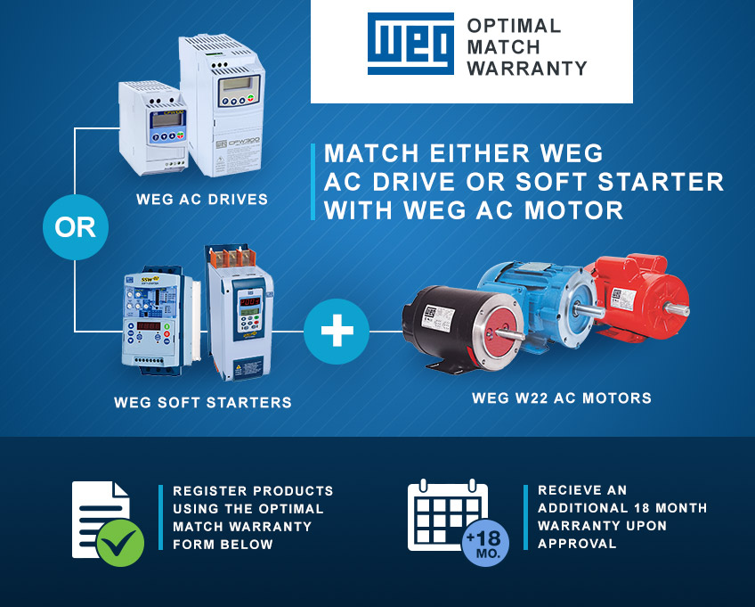 WEG Optimal Match Warranty