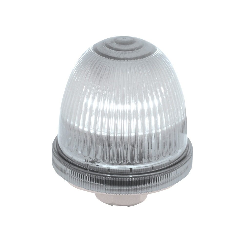 FMX 70mm Bulb-Type Light Module Blue UL Type 4X IP66 LED or Incandescent Bulb Purchased Separately 12-48VDC Flashing
