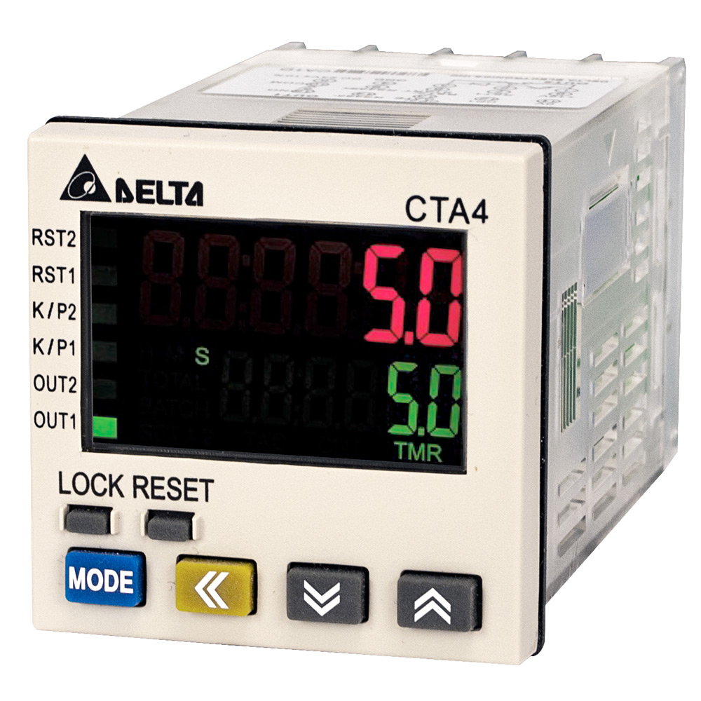Delta Timer/Counter/Tachometer