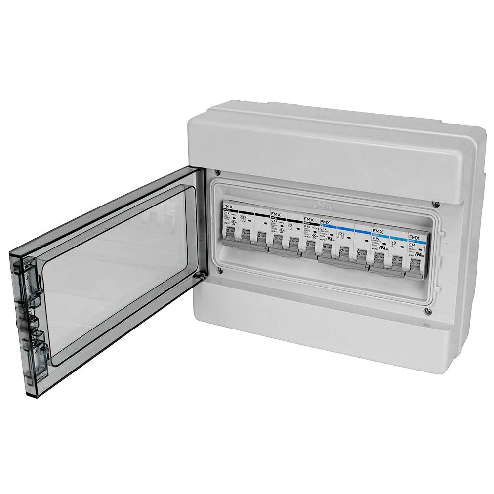 UL 489 13A 3-Pole Mini Circuit Breaker FMX MCB4-L2D-3P-C13