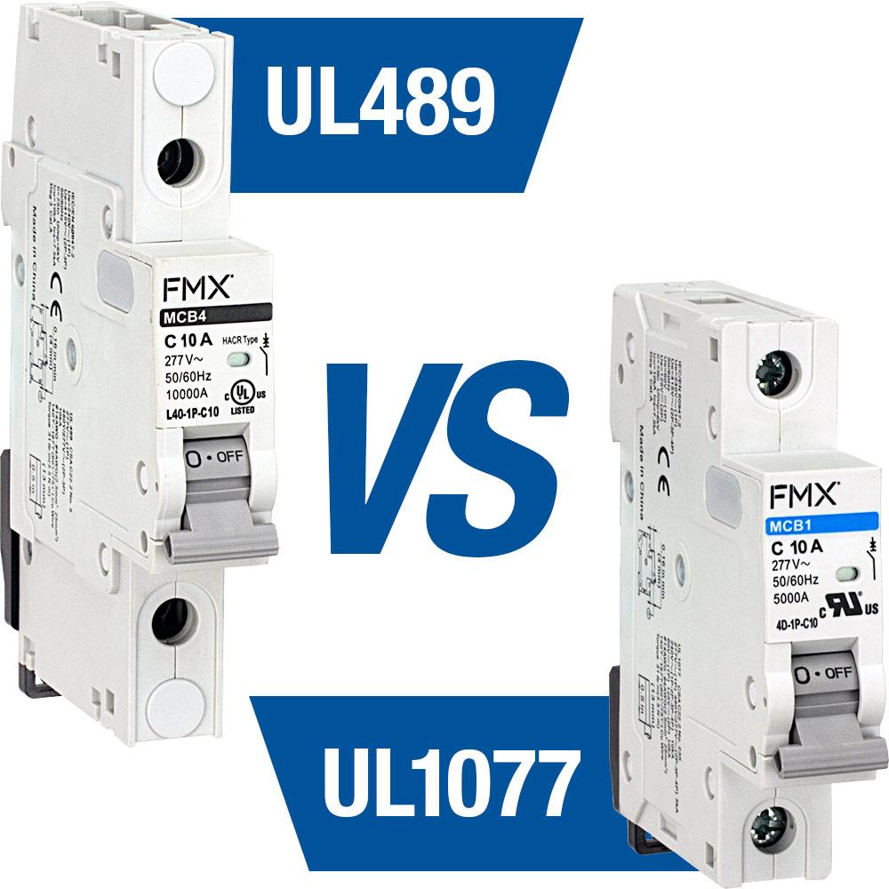 Industrial Mini Circuit Breakes Din Rail Miniature Breaker Timer Interface Units Ul489 Vs Ul1077 A