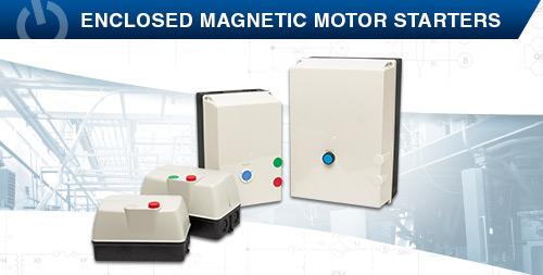 Enclosed Magnetic Motor Starters