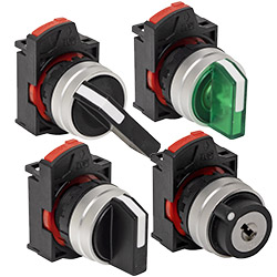 PD22 Selector Switches